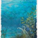 Underwater Sanctuary nuno felt collage