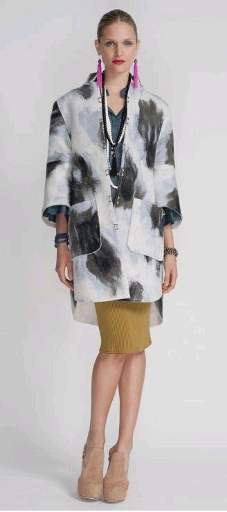 Hand-felted Merino Wool