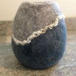 grey/blue vessel