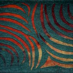 """""""Amazon II - Rain Forest"""" wall panel"""