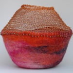 Wire and Wool Vessel