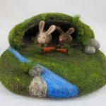 Bunny Cave Playmat